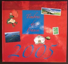 2005 TIMBRES DE FRANCE livre La Poste Francobolli francesi filatelia