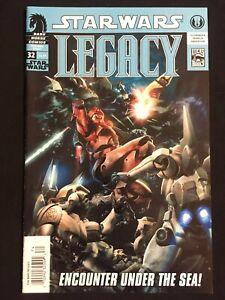 Star Wars Legacy #32 NM 9.4 RARE NEWSSTAND Dark Horse 2009