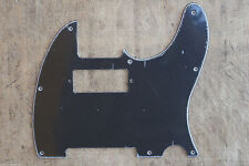 Golpeador Pickguard Telecaster Hot Rod Negro Black Mini Humbucker 3 Plies Tele