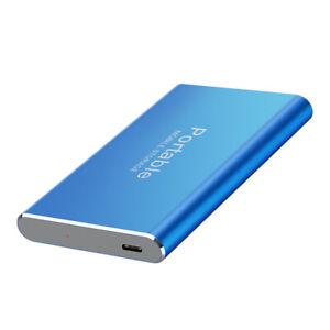 External Storage SSD Hard Drive Solid State 2/4/8TB USB 3.0 Mobile Hard Drive