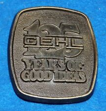 Gehl 125 Years Of Good Ideas Belt Buckle, Complete & Functional
