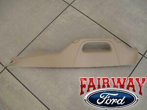 11 thru 16 Super Duty OEM Ford LH Driver A-Pillar Trim w/ Handle ADOBE TAN