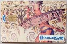 Malaysia Used Phone Cards - Iban Warrior Dance