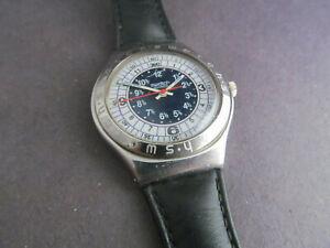 Used Swatch Irony quartz Men's Watch
