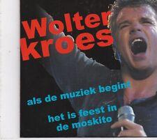 Wolter Kroes-Als De Muziek Begint cd single