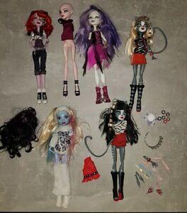 Monster High Puppen Konvolut Sammlung Ersatzteile