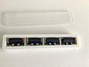 Roco minitrains  Hopper Wagons (Pack of 4) Hoe /  MINT