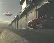 Honda Civic Type R UK Market Brochure 2010 22 Pages Includes Mugen 200
