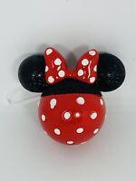 Hallmark Disney Minnie Mouse 3D Head Ornament.