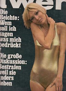 TWEN 1966 Jahrgang Einzelhefte Nummer 1,2,3,4,9,10,11, = 7 Twen Hefte KULT