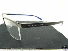 Hugo Boss 0610 H1G Ruthenium with Black and Blue.Spectacles,Frames,glasses
