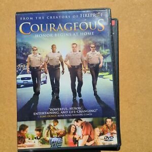 Courageous  60% OFF 4+ DVD $2 Each