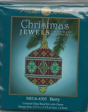 Christmas Jewels Berry Ornament by Mill Hill Bead Kit