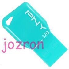 PNY Key Attache 32GB 32G USB Flash Pen Drive Stick Disk Mini Thumb Memory Green