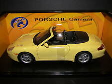 Gate 1/18 Porsche 911 (996) 1997 Cabrio Yellow MIB