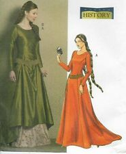 Sewing PATTERN for Camelot LOTR Medieval dress Butterick 4827 Maid Marion 6 -12