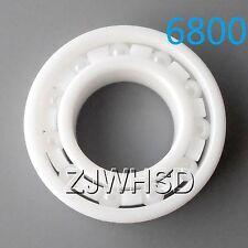 6800 Full Ceramic Zirconia Oxide Bearing ZrO2 10x 19x 5mm 61800 Self-lubricating