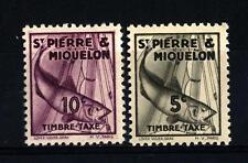 ST. PIERRE AND MIQUELON - 1938 - Segnatasse -