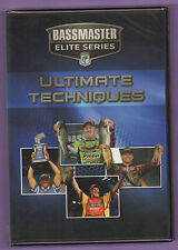 Bassmaster Elite Series Ultimate Techniques DVD Bass Fishing New/Sealed