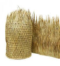 20' Tiki Hut Bar Mexican Palm Thatch Runner Roll 4'H x 20'L Commercial Grade