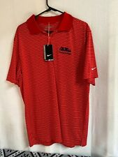Nike Golf Ole Miss Track & Field Polo Shirt University of Mississippi Brand New