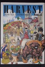 "JAPAN Hiro Mashima Art book: Harvest ""Fairy Tail Illustrations 2"""