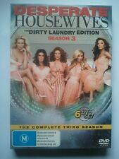 DESPERATE HOUSEWIVES - Complete Season 3 - 6 DVD Set - VGC - with Slipcase