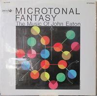 JOHN EATON Microtonal Fantasy: The Music of John Eaton LP Electronic w/ Syn-Ket