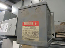 Square D .500 KVA 1 Phase 120/240x16/32 Volt Encapsulated Transformer- T1255