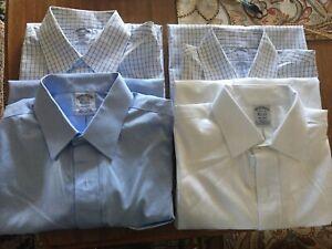 4 Brooks Brothers regent shirt 15 1/2 x 35