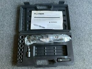 """Florida Pneumatic 3/8"""" FP-628K Ratchet Wrench Kit USED GREAT CONDITION"""