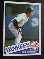 1985 Topps #665 Don Mattingly New York Yankees Baseball Card