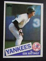 1985 Topps #665 Don Mattingly New York Yankees Baseball Card