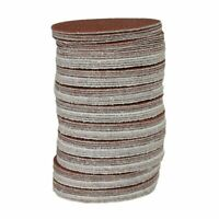100x Hook And Loop DA Sanding Grinding Abrasive Pad Mixed Grit 3inch 75mm Q2L5