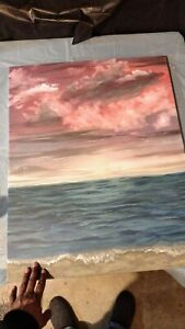Paintings on canvas hand painted