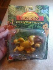 Lion King Collectible Figures Mufasa & Baby Simba - Vintage 1994 Disney - NEW