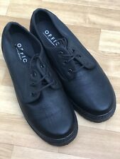 Office London Shoes Boots UK 7/40 Chunky Heels Lace Ups Goth Grunge Emo