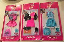Mattel Teen Skipper Cool Looks Outfits - Lot of 3 - MIP - Barbie Sister -