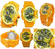 Casio G-Shock GA400A-9A Yellow And Orange Big Case Multilayered Series Watch