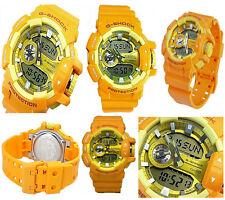 Casio G-Shock GA400A-9A Yellow And Orange Big Case Multilayered Series Watch
