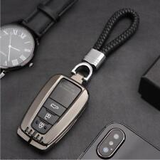 For Toyota Camry 2018 Smart Key Black Aluminum Case Cover Holder 1PC