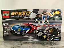Lego Speed Champions 75881 2016 Ford Gt & 1966 Ford Gt40 car
