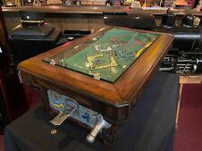 "1931 A.B.T. Dutch Pool Table Trade Stimulator ""WATCH VIDEO"""