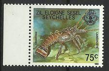 Seychelles Faune Marine Life Langouste Lobster Languste Aragosta Langosta **1980