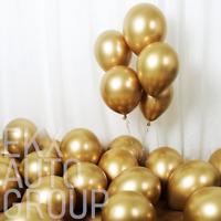 "25Pcs Gold Chrome Shiny Metallic 12"" Party Balloons Baby Wedding Birthday"
