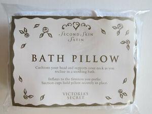 NEW Victoria's Secret BATH PILLOW Second Skin Satin Suction Cups