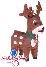 REINDEER TRADITIONAL CHRISTMAS PINATA Xmas Office Party Game Decoration P12940