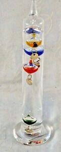 Small Galileo thermometer