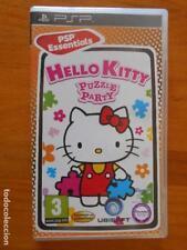 PSP - HELLO KITTY PUZZLE PARTY - PSP ESSENTIALS - EN CASTELLANO (2S)