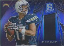 2013 Panini Spectra #63 Philip Rivers  Spectra Blue Jersey Card  #26/99